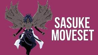 getlinkyoutube.com-Naruto Storm Revolution - Sasuke Hebi Complete Moveset