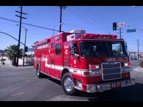 A Small LAFD Compilation for a Sun Valley Scrap Yard Fire. 10-28-12.