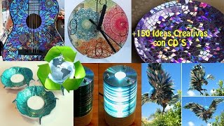 getlinkyoutube.com-Reciclaje CD´s +150 Ideas / Recycling CD +150 Ideas.