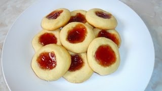 getlinkyoutube.com-Galletas de Mantequilla con Mermelada - Receta