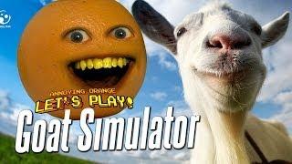 getlinkyoutube.com-Annoying Orange Let's Play Goat Simulator #1