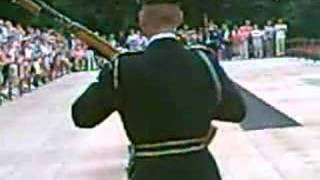 Changing of the Guard: Man Crosses Rail Gets Yelled At!