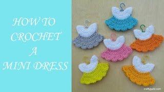 getlinkyoutube.com-How to Crochet a Mini Dress