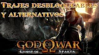 getlinkyoutube.com-Guia 100% God Of War Ghost of Sparta | Trajes Desbloqueables y Secretos
