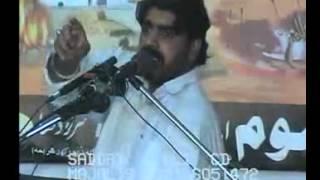 getlinkyoutube.com-Zakir Ghazanfar Abbas Gondal Shahadat Imam Musa Kazim as Sargodha