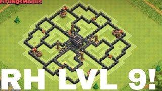 getlinkyoutube.com-■CLASH OF CLANS RATHAUS LEVEL 9 BESTE BASE! ■
