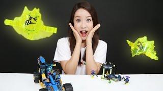 getlinkyoutube.com-LEGO Jay Walker One Toys 레고 제이 워커 원 장난감을 조립 플레이 하는 캐리 Carrie and toys