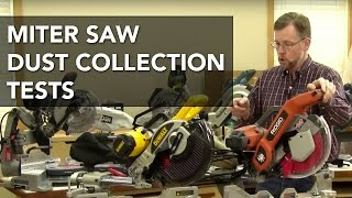 getlinkyoutube.com-Miter Saw Dust Collection Test