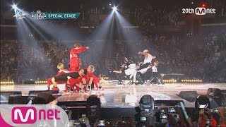 getlinkyoutube.com-GOT7(갓세븐) VS MONSTA X(몬스타X) - Dance Battle M COUNTDOWN - FEELZ in LA 150813 EP.437