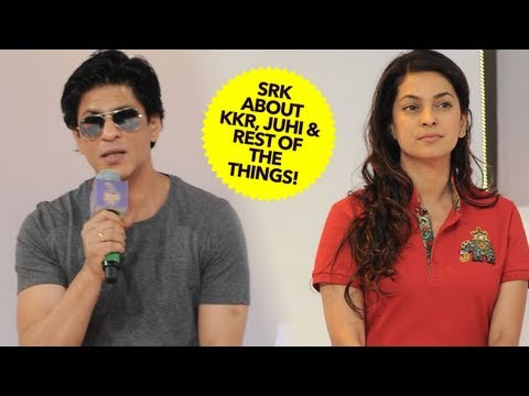 Shah Rukh Khan About KKR, Juhi Chawla & Rest Of The Things!