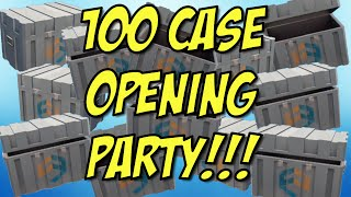 getlinkyoutube.com-100 Case Opening Party! - Critical Ops - So many skins