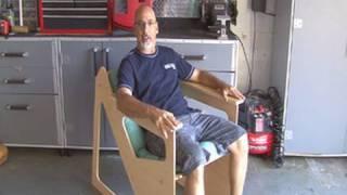 getlinkyoutube.com-Weekend Project: Rok-Bak Chair
