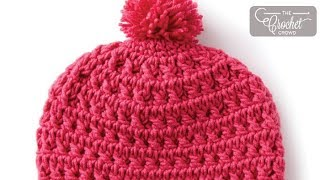 getlinkyoutube.com-How to Crochet A Hat: Toddler 2 - 4 Years Old