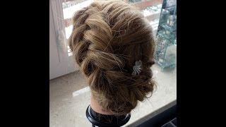 Fryzury Pazury - Łatwa fryzura z kłosem