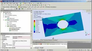 getlinkyoutube.com-ANSYS Workbench Structural Tutorial 1