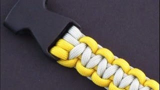 getlinkyoutube.com-A Simple Means of Attaching Buckles to a Paracord Tie by TIAT