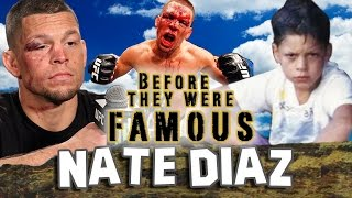 NATE-DIAZ-Before-They-Were-Famous-UFC width=