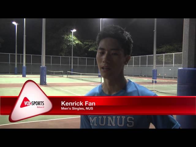 International Tertiary Tennis Series 2015 - Day 2