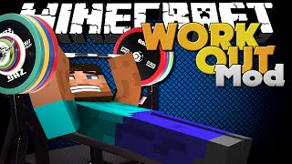getlinkyoutube.com-Minecraft Mod - WORKING OUT MOD - FITNESS IN MINECRAFT!!