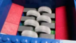 getlinkyoutube.com-Lego Mega Shredder 2.0