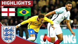 Young England Team Earn Another Clean Sheet in Hard-Fought Draw   England 0 - 0 Brazil   Highlights