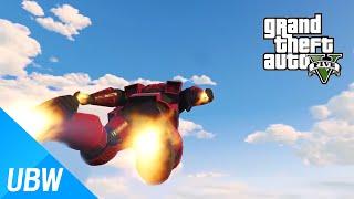 getlinkyoutube.com-GTA 5 아이언맨 모드 - GTA 5 Mod Showcase: Ironman Mod
