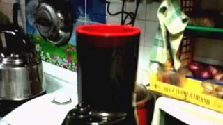 getlinkyoutube.com-How to juice Bitter Gourd aka Bitter Melon using Kuvings Whole Slow Juicer