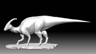 Parasaurolophus Zbrush sculpt