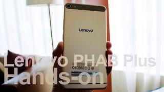getlinkyoutube.com-Hands-on: Lenovo PHAB Plus