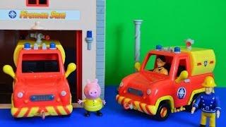 getlinkyoutube.com-Fireman Sam Episode Peppa Pig Episode Fire Engine Peppa pig Full episode Story