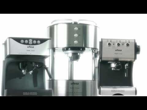 Ufesa y su nueva gama de cafeteras espresso Duetto creme
