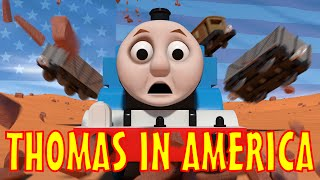 getlinkyoutube.com-TOMICA Thomas & Friends Short 43: Thomas in America
