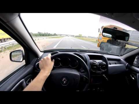 Где находится у Dacia Дастер привод спидометра