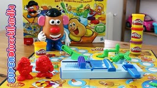 Patatas Aplastadas de Play-Doh con Mr. Potato - Smashed Potatoes Game.