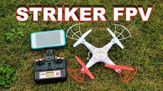 getlinkyoutube.com-Striker Live Feed WiFi Spy Drone - FPV Quadcopter Review - TheRcSaylors