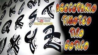 getlinkyoutube.com-Abecedario timoteo informal Gótico