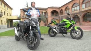 getlinkyoutube.com-Kawasaki Z250 SL e Z300 - Test su strada