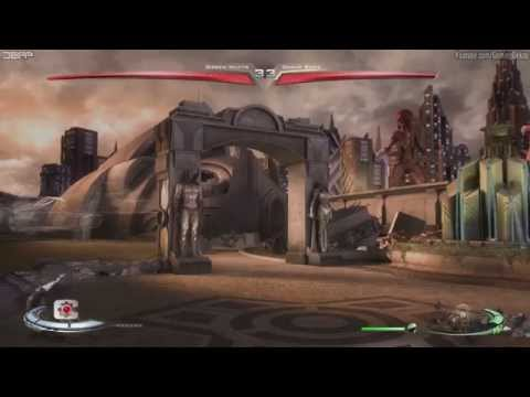 Injustice Gods Among Us - Practice Vs Nutts King Of The Hill Matches Gameplay