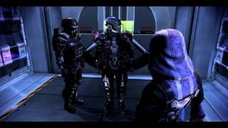 getlinkyoutube.com-Mass Effect 3 - Kaidan reaction on romance between Tali and Shepard
