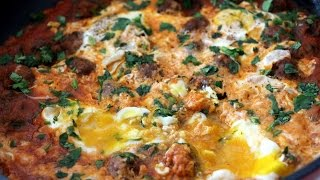 Tagine of Meatballs and Eggs Recipe - CookingWithAlia - Episode 372