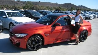 "New BMW M3 Sakhir Orange 19"" Black M Wheels / Exhaust Sound / BMW Review"