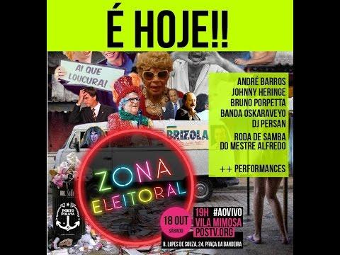 #ZONAELEITORAL na Vila Mimosa - Futebol, Cultura e Política