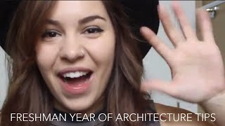 5 Tips for Your Freshman Year of Architecture School! | Architalks #4