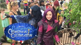 "getlinkyoutube.com-Descendants perform ""Rotten to the Core"" at 2015 Disney Christmas Celebration taping"