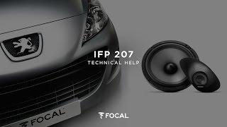 getlinkyoutube.com-Installing a IFP207 Peugeot 207 dedicated kit