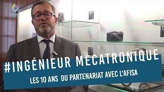 Olivier Faron Administrateur Gal CNAM 10 ans d'Ingénieur en mécatronique AFISA