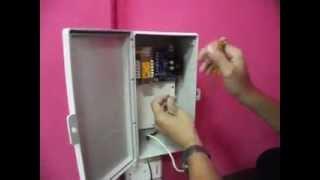 การติดตั้ง Access control / คีย์การ์ ควบคุมการเข้าออกและ อุปกรณ์ไฟฟ้า
