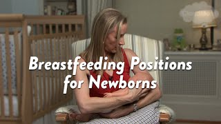 getlinkyoutube.com-Breastfeeding Positions for Newborns | CloudMom