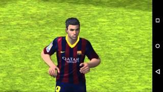 getlinkyoutube.com-LIGA BBVA FIFA 14 ANDROID 1°VIDEO