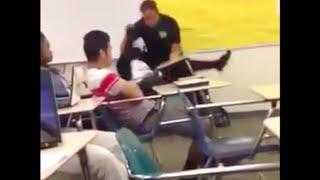 getlinkyoutube.com-Assault at Spring Valley High Incident Cop drags teenage girl from desk + Don Lemon coonin
